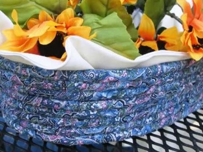 """""""Annabelle Baskets"""" Collection of Rag Baskets, Coiled Baskets Crafts from my ETSY Shop"""
