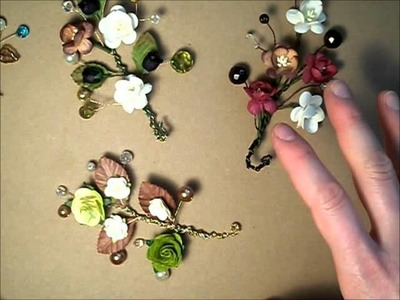 Beaded Flower Sprays