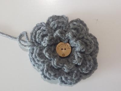 Bloem haken. crochet flower