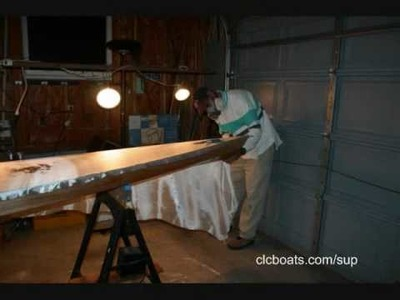 Building the Chesapeake Light Craft Kaholo Stand-Up Paddleboard : Part 4