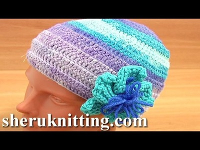 Crochet Hat Pattern for Beginners Tutorial 2 Part 2 of 3