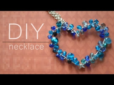 DIY : heart necklace