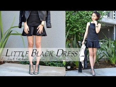 DIY Little Black Dress