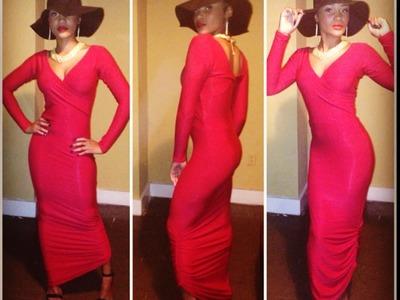 DIY: Maxi Dress (Holiday Edition)