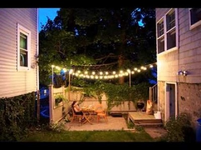 DIY Outdoor patio decorating ideas