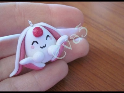 DIY Polymer clay: tutorial Mokona from Magic Knight Rayearth