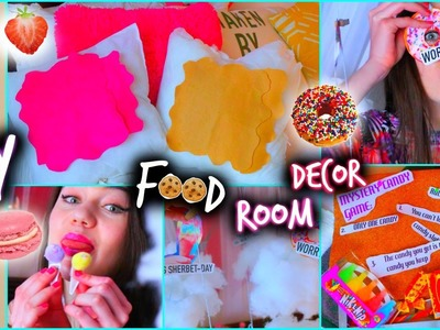 DIY Room Decor: Food Edition!