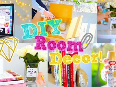 DIY Spring Room Decor! + Cheap and Cute | Breezylynn08