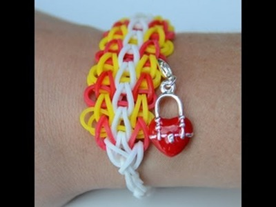 DIY Tutorial - Ladder CREASTIC BRACELET loom