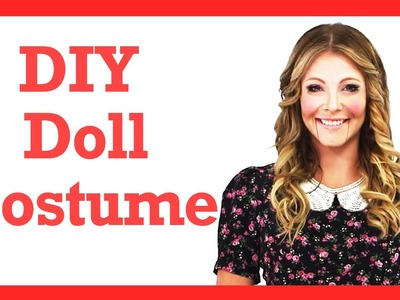 DIY Wind Up Doll Halloween Costume! #17daily