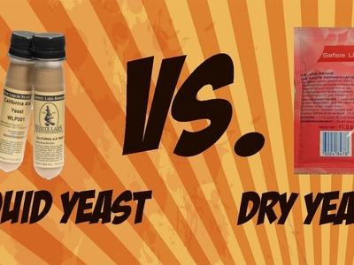 Dry Brewing Yeast vs. Liquid Brewing Yeast   Beer Geek Nation Craft Beer Reviews