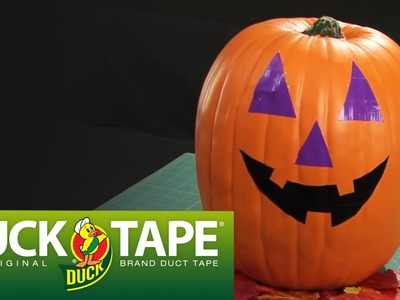 Duck Tape Craft Ideas: How to Make a Jack O Lantern