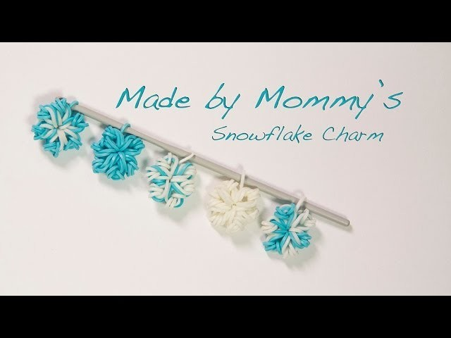 Easy Flower or Snowflake Charm Without the Loom