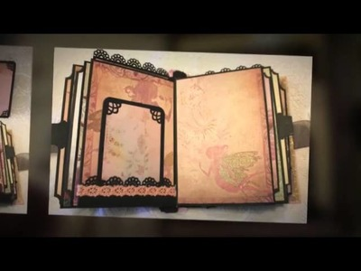 FAR & AWAY fantasy fairytale adventure Premade Shabby Chic scrapbook album selling on eBay