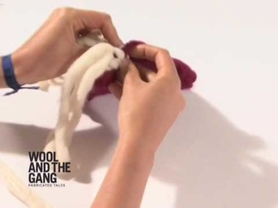 Fringe Tutorial -  by WOOL AND THE GANG