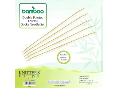 Giveaway! Knitter's Pride Bamboo DPN Needle Set