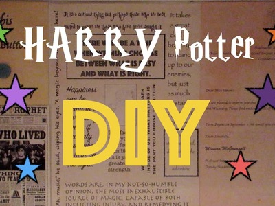 Harry Potter DIY ideas l Home Decor ideas