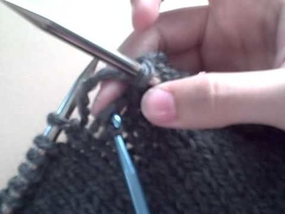 How to Drop a Stitch