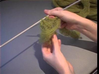 How to knit a scarf with Rowan Kidsilk Creation yarn