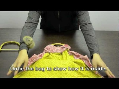 How to make a bag without sewing