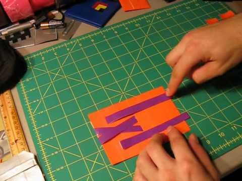 How to make a Duct tape magic wallet