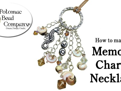 How to Make a Memory Charm Necklace (or Pendant)