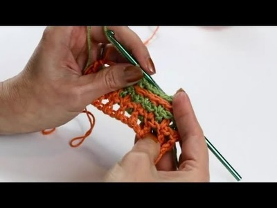 How to Make Interlocking Crochet Stitches : Crochet Stitches