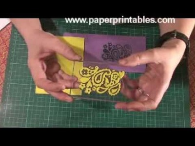 How to make your own rubber stamps tutorial