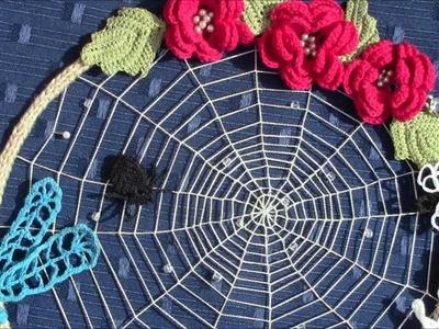 Irish Crochet Lace, A Summer Suncatcher