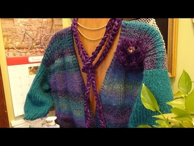 J's Knit Snowdrop Lace Vest Tutorial.  EP.  #22. 1.