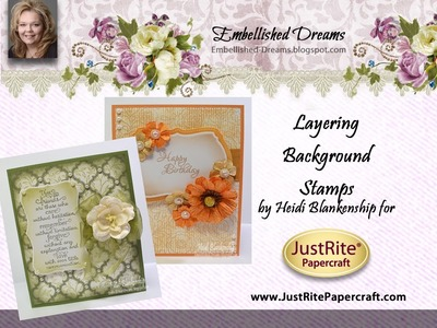 Layering Background Stamps