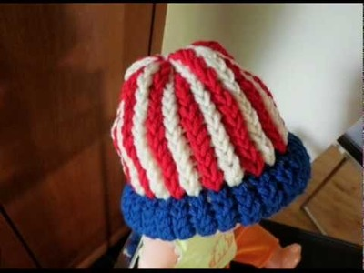 Loom Knit Hats for Newborns