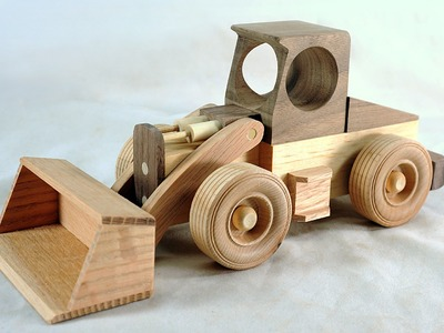 Make a Toy Front Loader - Free Plans