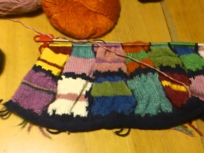 My crocheting and knitting projects