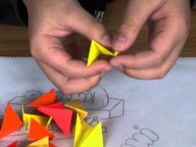 Origami Spikey ball