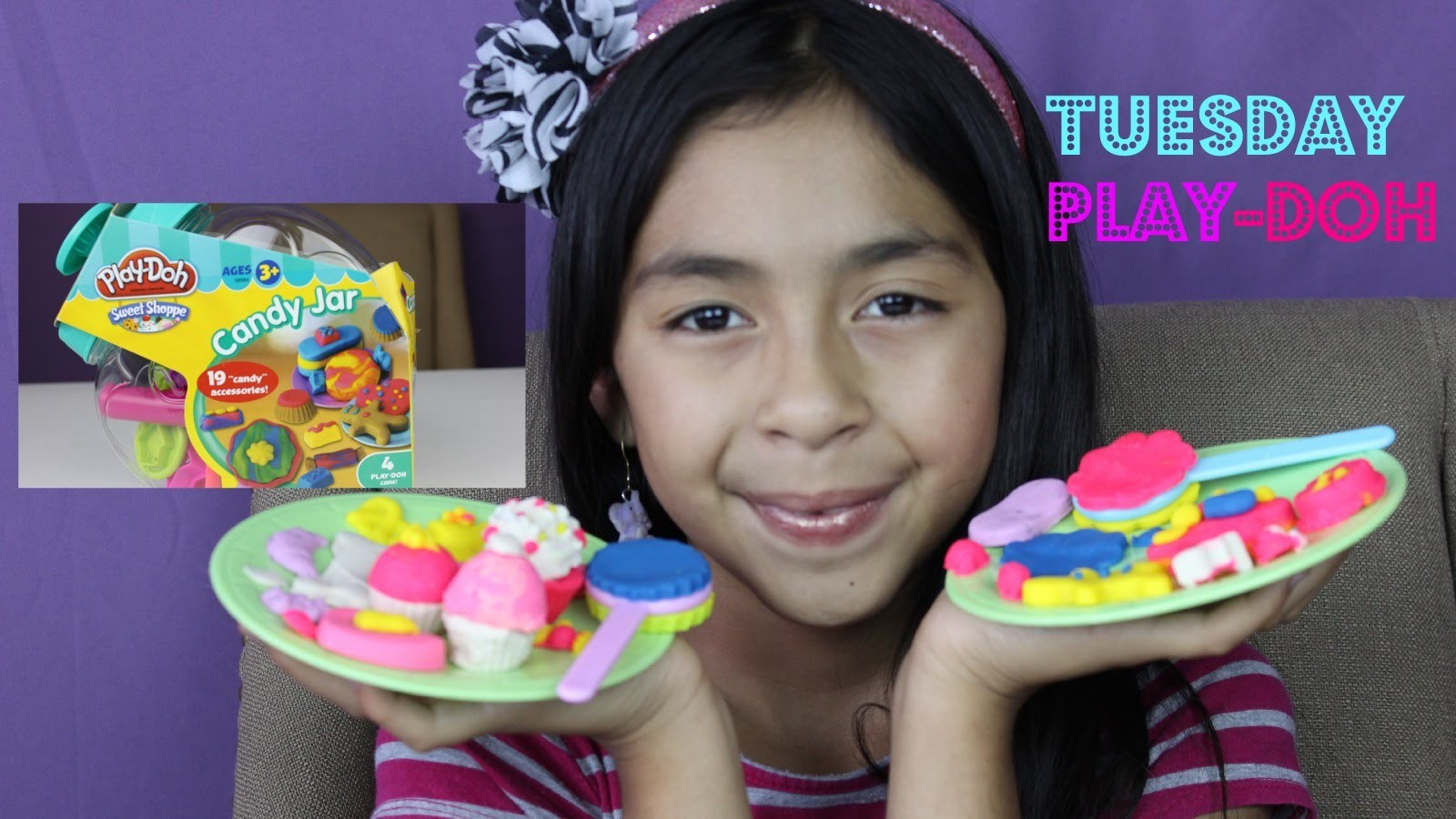 PLAY DOH Candy Jar,Make Cupcakes, Ice Cream, Lollipops-Tuesday Play Doh|B2cutecupcakes