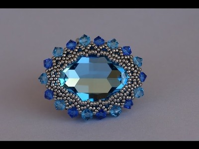 Sidonia's handmade jewelry - Ring band for the Swarovski ring