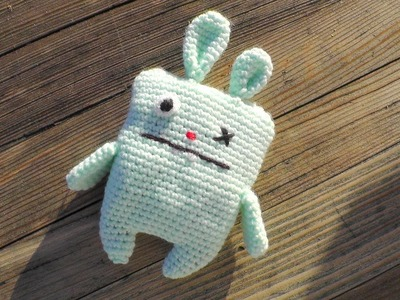 Ugly bunny amigurumi crochet pattern [advanced] Schachenmayr Baby Super Soft