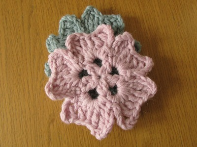 VERY EASY crochet coaster tutorial - crochet coaster for beginners