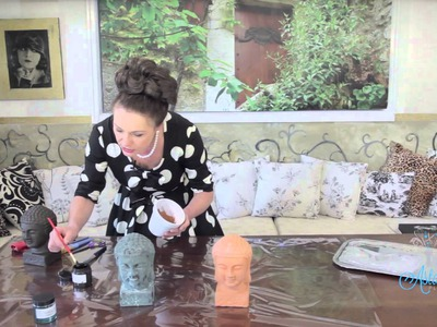 Arts & Crafts Tutorial: Verdigris Techniques - How to Age Copper