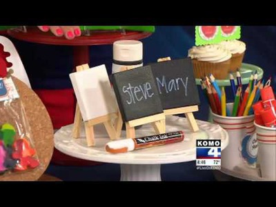 Back to School Craft Ideas with KOMO TV DIY Diva Malia Karlinsky