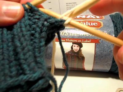 Changing Colors - Bernat Work Sock Cup Cozy (knit)