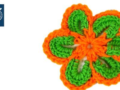 Cheerful Flower #Crochet Geek Left Hand