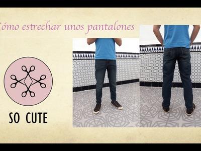 Cómo estrechar un pantalón DIY