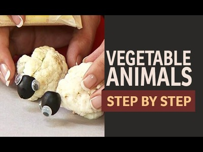 Craft Ideas for kids - How to make a Vegetable Sheep (Hindi)