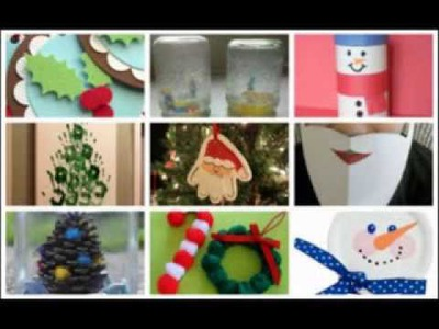 Creative Christmas crafts ideas