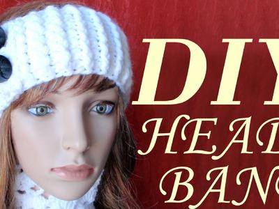 DIY Easy Simple Crochet Headband, Tutorial, Pattern Crochet Ribbing
