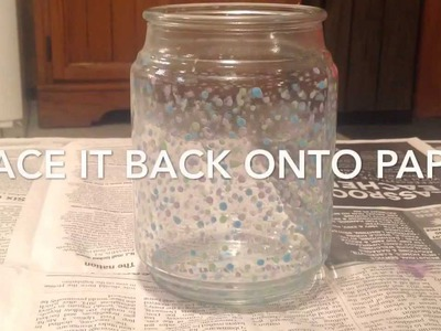 DIY glow in the dark(fairy) jar