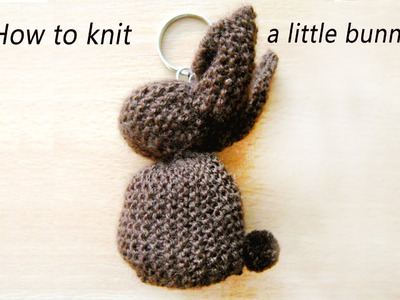 DIY: How to knit a little bunny- knitted bunny