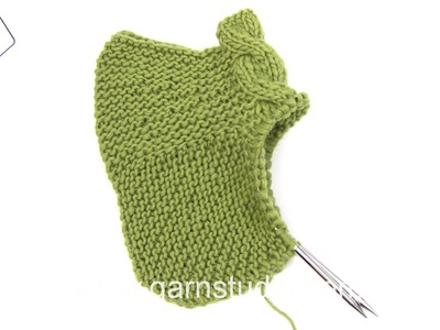 DROPS Knitting Tutorial: How to work heel in DROPS 124-13